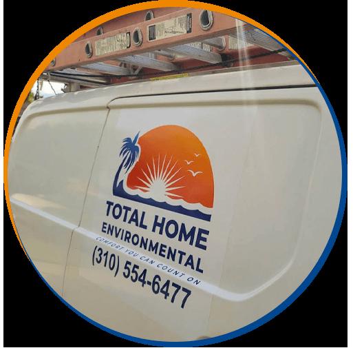 Total Home Environmental | Torrance HVAC Expert Service Vehicle